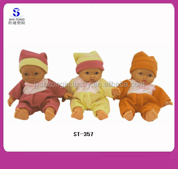 Very Cheap Price 5 Inch Small Vinyl Baby Doll for Girl Gifts or Promotions
