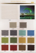 Warp knitting 100GSM Soft Outdoor plastic Polyester fabric for shoes &sofa furniture fabric