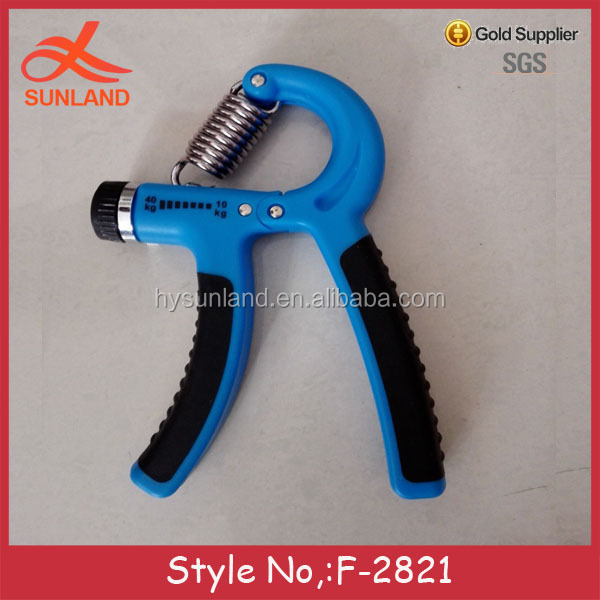 F-2821new cheap heavy hand grip strengthener power fitness hand grip exerciser