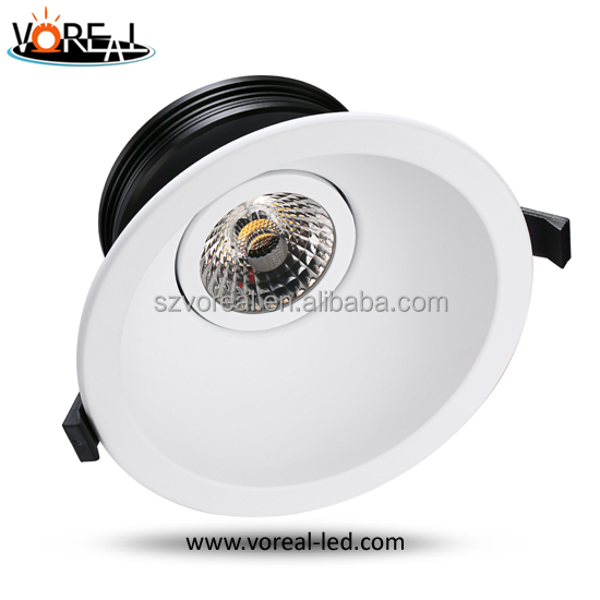 Dimmable 3 years warranty led downlight housing factory with unique design