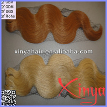 The Best Quality #27 613 Brazilian body wave for white women 6a human hair