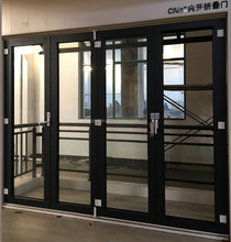 Soundproof Waterproof Insulating Aluminum Exterior Glass Heavy/Lightweight folding sliding door