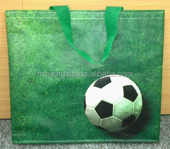 Football Eco friendly high quality foldable Shopping bag from Vietnam