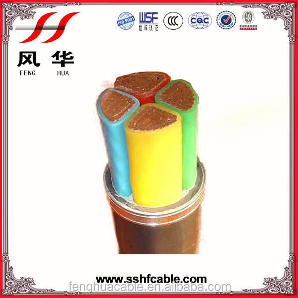 Power Cable 0.6/1kv PVC/XLPE Insulated Sheathed Steel Tape/Wire/AL Wire Armoured Low Voltage power electrical cable 240 sq mm