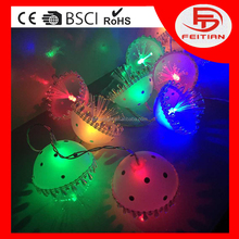 2016 mushroom type hot sales led Christmas string light holiday led decoration light CE ROHS GS high quality standard led light