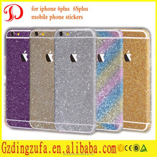 Fantasy Self Adhesive Skin Sticker Glitter Mobile Phone Stickers For iPhone 6 plus 6s plus