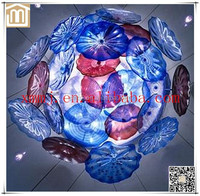 Hand made blown glass decorative home ceiling hanging modern pendant light