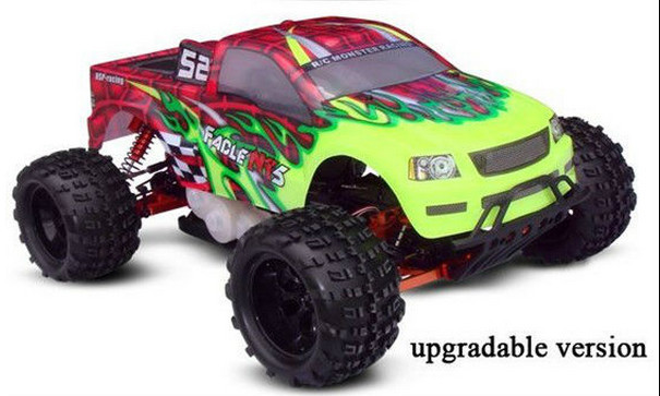 how to make a gas powered rc car