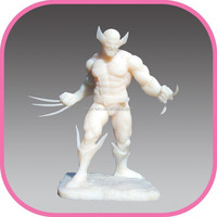 custom plastic ABS PA action figure made in China factory directly
