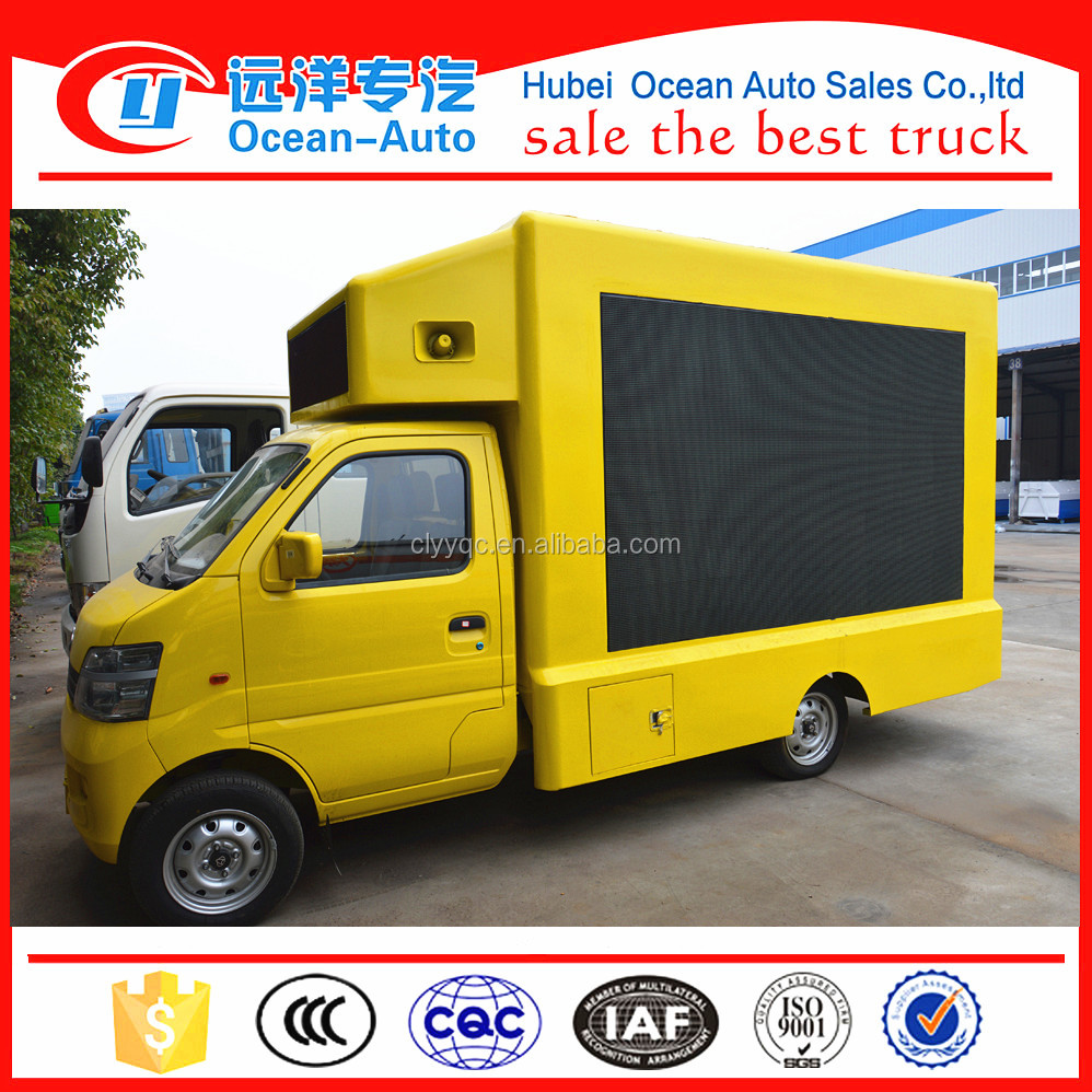 4 * 2 Video Outdoor Led Display Truck for Advertising