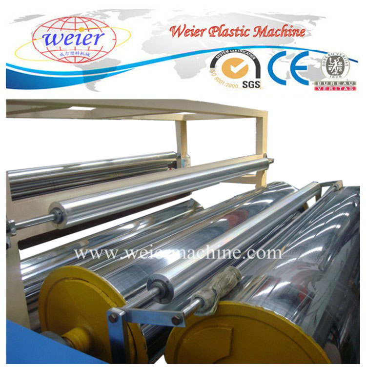 PE PVC Stretch film making machine stretch cling film production line