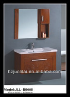 natural oak furniture timber bathroom vanity wooden bathroom cabinet
