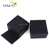 High quality Beautiful wholesale cheap PU leather cover plastic single custom box watch