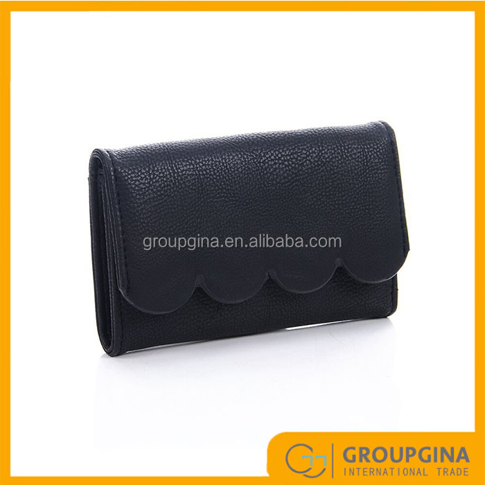 2016 Free Shipping New Design Scalloped Wallets