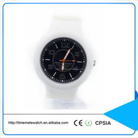 Newest rubber material bracelet wrist sports watch custom logo silicone china replica watches