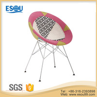 Colorful Outdoor Patchwork Egg Shaped Leisure Chair for Sale