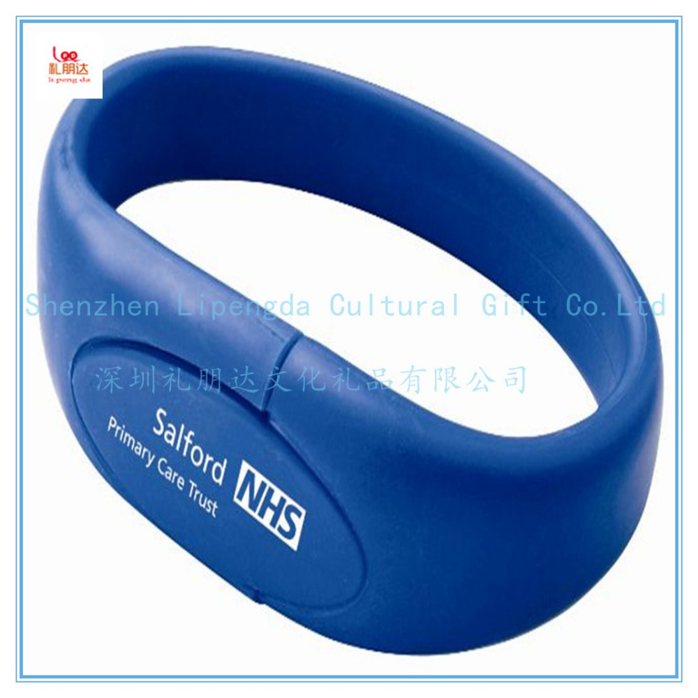 wholesale promotion hand band usb flash drive, silicone hand band usb flash drive, usb hand band usb flash drive