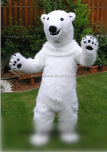 adult white bear costume, adult bear costume, care bear costume