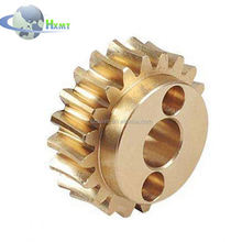 manufacture steel gear made of steel and precision casting then CNC machining service or Precision investment casting