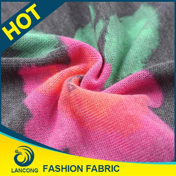 Factory price Garment making use Spandex sweater knit fabric hacci
