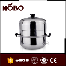 Cheap wholesale large stainless steel food steamer bun warmer