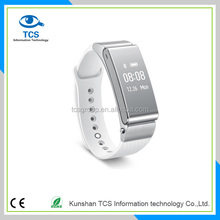 TalkBand B2 Bluetooth Smart Watch Water Resistance Wristband Wireless Headset with Bluetooth Dialer Silver