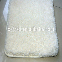thick pile microfiber polyester soundproof carpet floor tiles