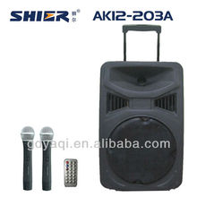 usb mp3 SHIER AK12-203A wireless portable sound system for paging