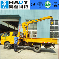 3ton crane truck with radio control in high quality