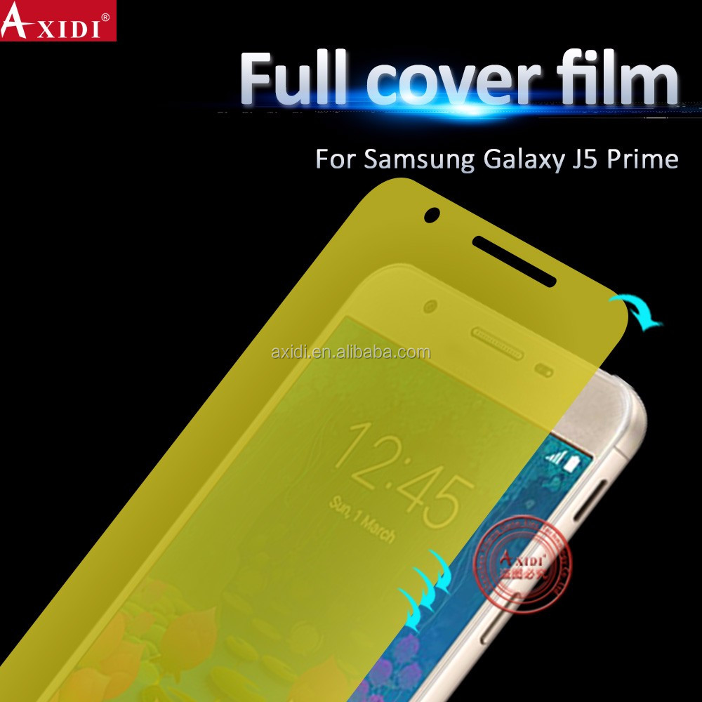 Suitable for all curved phones full cover HD tpu removeable screen protector for Samsung j5