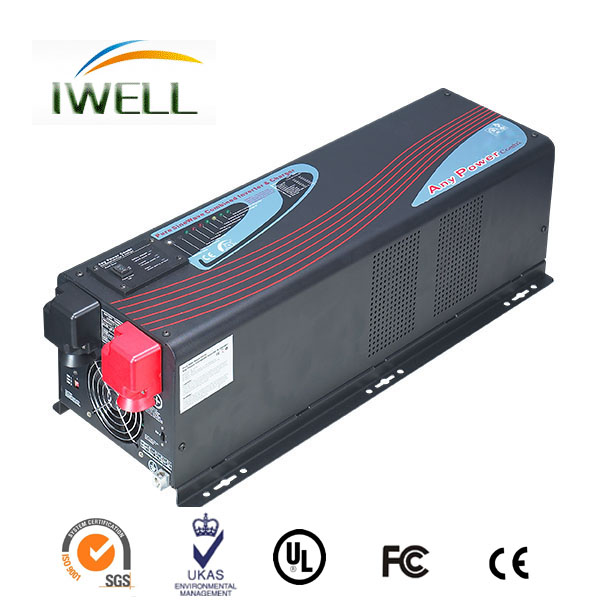 China manufacture OEM pure sine wave LCD display 2KW solar inverter power