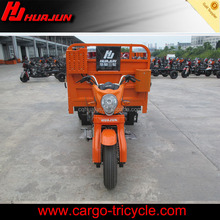 three wheel gas scooters/cargo tricycle with closed cabin/china cargo tricycle