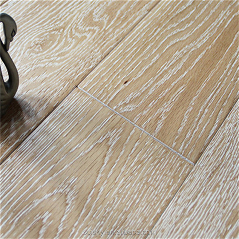 Sandy Rock White Color Wood Flooring with Solid Composite Wood Household Preferred Flooring Textured