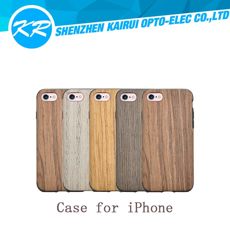 Hiqh quality wooden phone case, wooden case for iPhone 6, cell phone case for iphone 6 4.7/5.5 inch