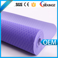 Personal style custom private label tpe yoga mat by latest technology