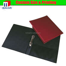 Cheap custom sponge pvc covered plastic clip folder / sponge clip folder