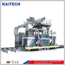 CE certificate QH6915 H beam / steel profile shot peening equipment/sandblasting machine