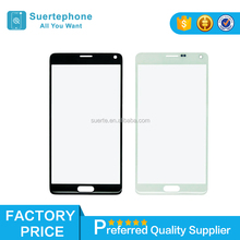 Factory price Replacement For Samsung Galaxy note4 Screen Glass Lens Front Glass Black&white
