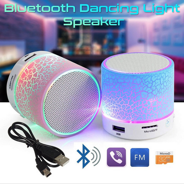Mini LED Portable Bluetooth Speakers Wireless Hands Free With TF USB FM Blutooth Music For Mobile Phone Bluetooth Device