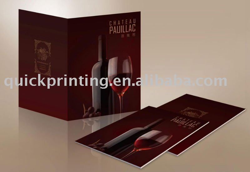 High Quality Beautiful Brochure Design Sample Printing