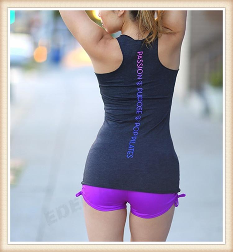Fitness Women Tank Top Ladies Basic Yoga Top Wholesale