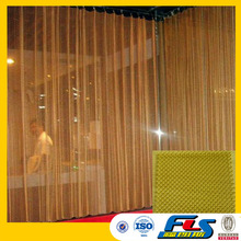Decorative Architecture Metal Drapery Rings,Chain Link Curtain,Fireplace Wire Mesh Curtain