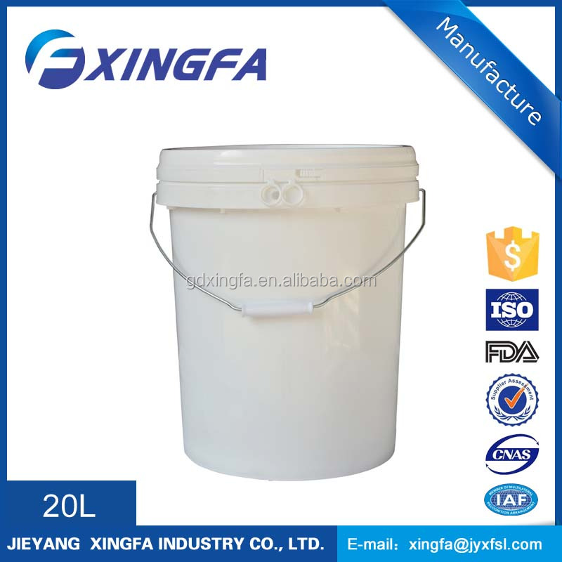 5 gallon bucket food storage containers with cap and handle