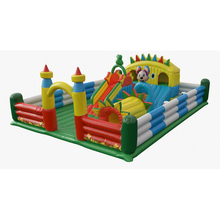 HI hot sale giant used commercial inflatable bounce-outdoor playground equipment for kids