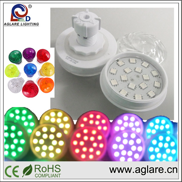 Hot sale 60mm AC24V IP65 RGB auto running led camaleon aglare led