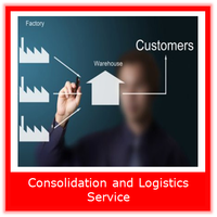 one stop universal logistics services with warehouse and consolidation