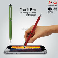multi-function aluminum metal touch ball pen