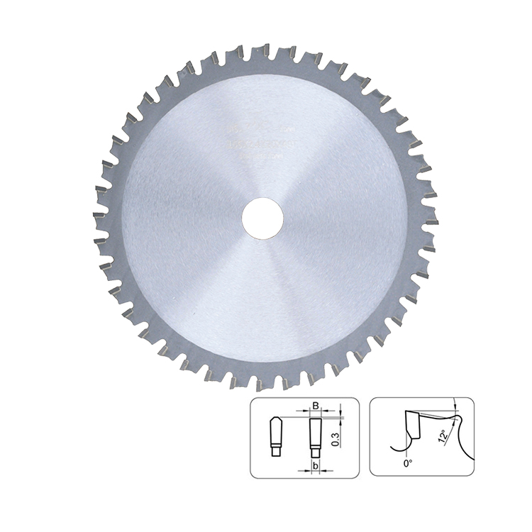 Industrial Grade Dry Cutter TCT Circular Saw Blade for Stainless Steel Cutting