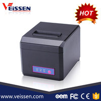 Best seller pos printer with USB+Serial+Ethernet interfaces 80mm thermal printer