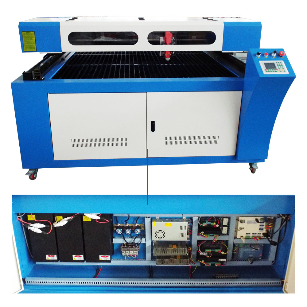 180w metal laser cutting machine for steel